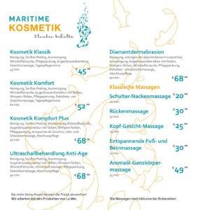 Maritime Kosmetik Möwencenter